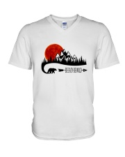Be Easy Be Wild V-Neck T-Shirt thumbnail
