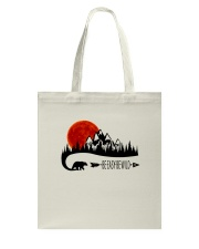 Be Easy Be Wild Tote Bag thumbnail