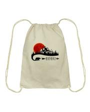 Be Easy Be Wild Drawstring Bag thumbnail