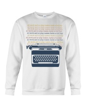 All Work And No Play Crewneck Sweatshirt thumbnail