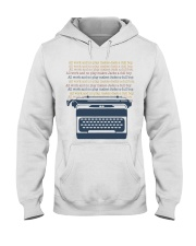 All Work And No Play Hooded Sweatshirt thumbnail