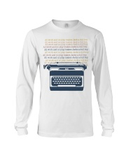 All Work And No Play Long Sleeve Tee thumbnail
