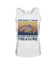 One Man's Trash Unisex Tank thumbnail