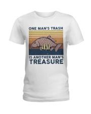 One Man's Trash Ladies T-Shirt thumbnail
