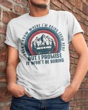 I Wont Be Boring Classic T-Shirt apparel-classic-tshirt-lifestyle-26