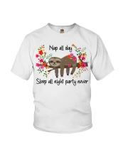Nap All Day Youth T-Shirt thumbnail