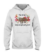 Nap All Day Hooded Sweatshirt thumbnail