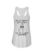 I'm A Happy Go Lucky Ladies Flowy Tank thumbnail