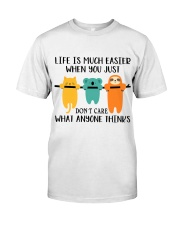 Life Is Much Easier Premium Fit Mens Tee thumbnail