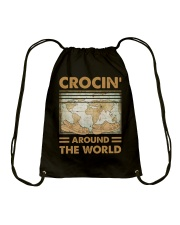 Crocin Around The World Drawstring Bag thumbnail