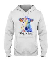 Whatever Heifer 1 Hooded Sweatshirt thumbnail