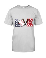 Love Baseball Premium Fit Mens Tee thumbnail