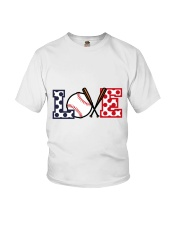 Love Baseball Youth T-Shirt thumbnail