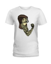 Fear The Beard Ladies T-Shirt thumbnail