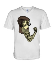 Fear The Beard V-Neck T-Shirt thumbnail