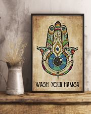 Wash Your Hamsa 11x17 Poster lifestyle-poster-3