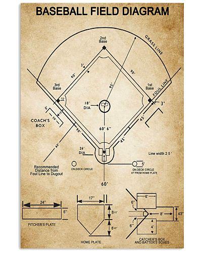 Baseball Field Diagram