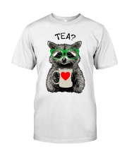 Love Raccon Classic T-Shirt front