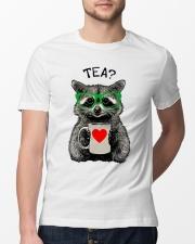 Love Raccon Classic T-Shirt lifestyle-mens-crewneck-front-13