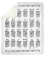 "Love Guitar Sherpa Fleece Blanket - 50"" x 60"" thumbnail"