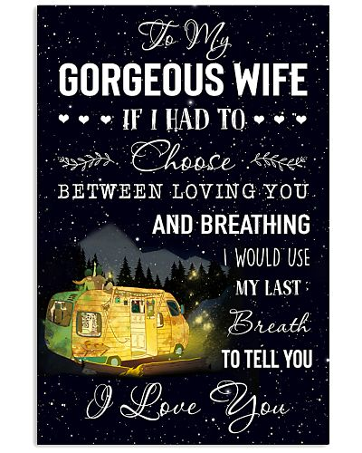 To My Gorgerous Wife