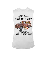 Chickens Make Me Happy Sleeveless Tee tile