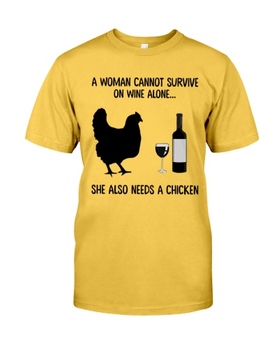 She Also Needs A Chicken