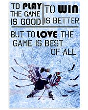 Game Is Best Of All 11x17 Poster front