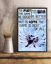 Game Is Best Of All 11x17 Poster lifestyle-poster-3