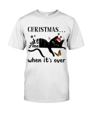 Christmas Wake Me Classic T-Shirt tile