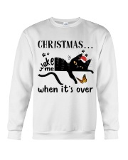 Christmas Wake Me Crewneck Sweatshirt tile