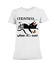 Christmas Wake Me Premium Fit Ladies Tee thumbnail