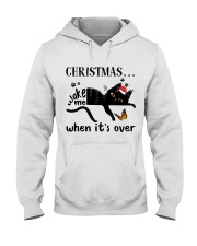 Christmas Wake Me Hooded Sweatshirt thumbnail