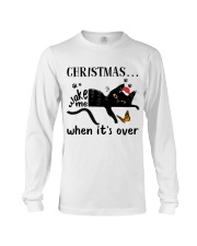 Christmas Wake Me Long Sleeve Tee thumbnail