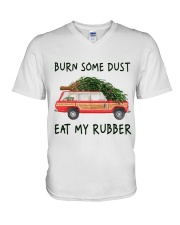 Burn Some Dust V-Neck T-Shirt thumbnail