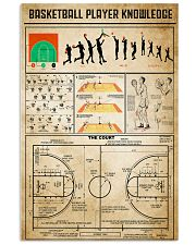 Basketball Player Knowledge 11x17 Poster front