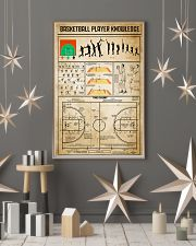 Basketball Player Knowledge 11x17 Poster lifestyle-holiday-poster-1