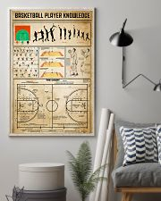 Basketball Player Knowledge 11x17 Poster lifestyle-poster-1
