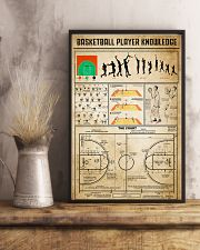 Basketball Player Knowledge 11x17 Poster lifestyle-poster-3