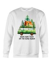 On The Road Again Crewneck Sweatshirt thumbnail
