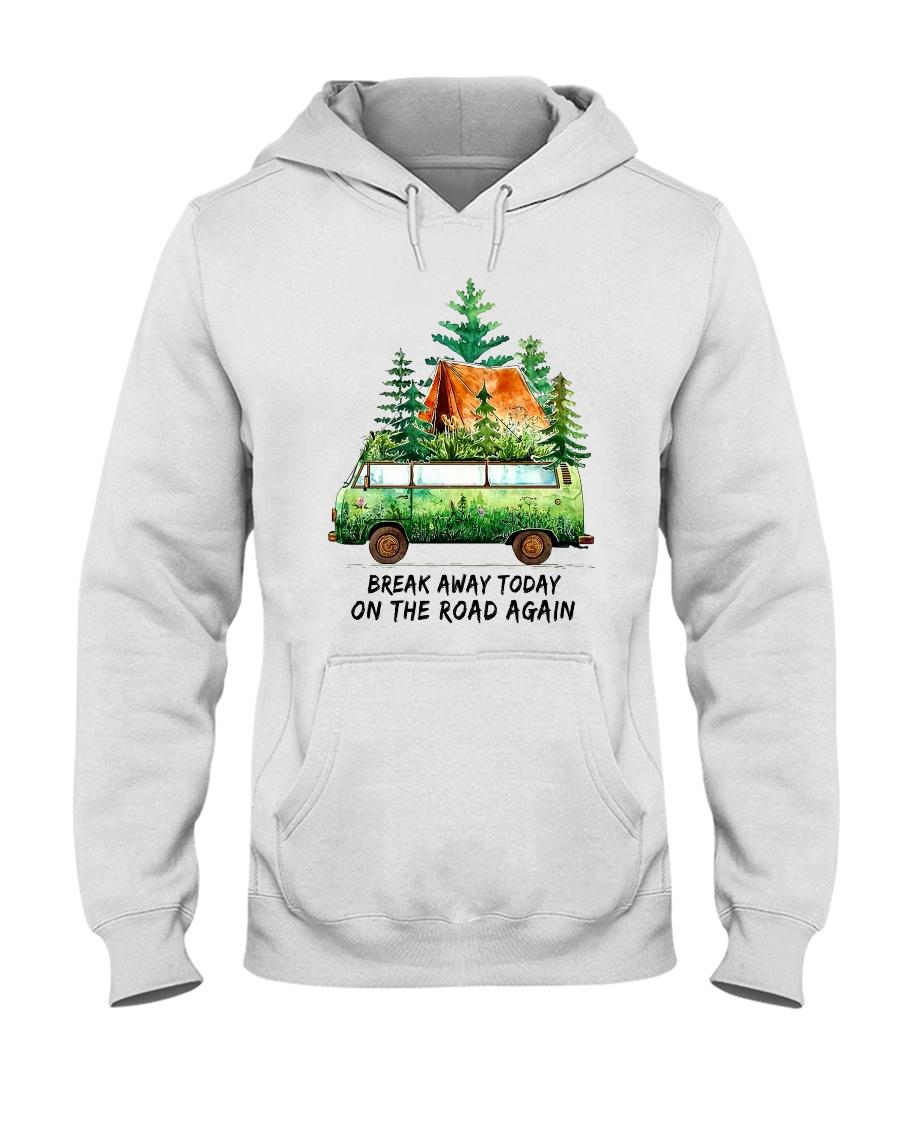 On The Road Again Hooded Sweatshirt