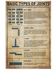 Basic Types Of Joints 11x17 Poster front