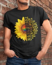 The World Has Bigger Problems Classic T-Shirt apparel-classic-tshirt-lifestyle-26