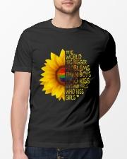 The World Has Bigger Problems Classic T-Shirt lifestyle-mens-crewneck-front-13