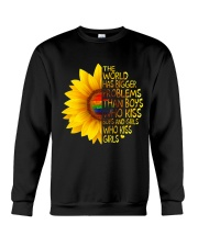 The World Has Bigger Problems Crewneck Sweatshirt thumbnail