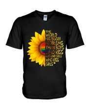 The World Has Bigger Problems V-Neck T-Shirt thumbnail