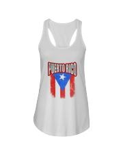 Puerto Rico Ladies Flowy Tank thumbnail