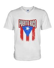 Puerto Rico V-Neck T-Shirt thumbnail