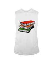 Book Are Better Than People Sleeveless Tee thumbnail