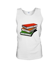 Book Are Better Than People Unisex Tank thumbnail